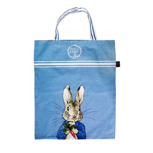 Peter Rabbit Indkøbstaske / Shopper, taske med Peter Kanin b32 x h41cm