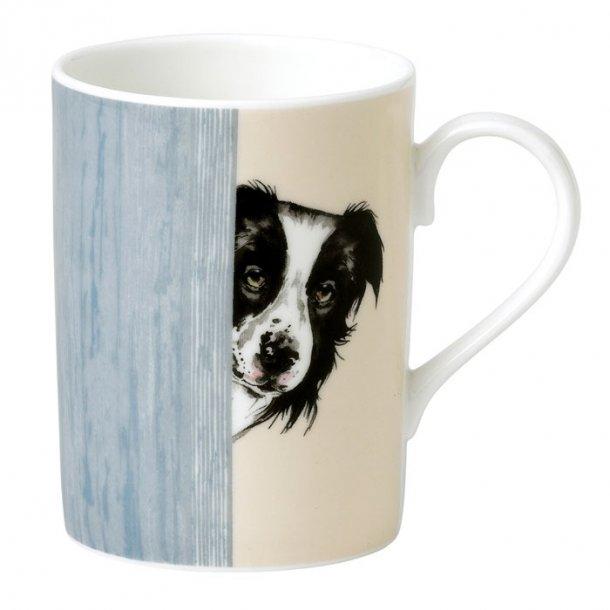 Collie hundmugg 0,33 ltr, te och kaffe mugg med bild av en Collie