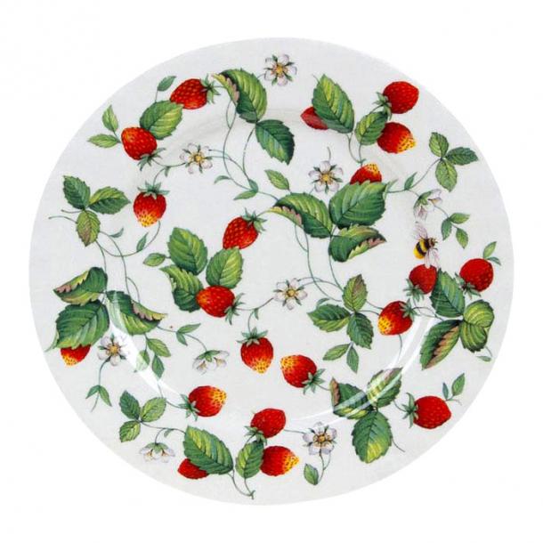 Alpine Strawberry Tallerken med Jordbær 27 cm
