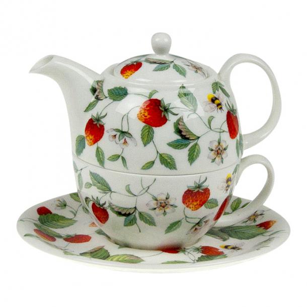 Alpine Strawberry Tea for One med Jordbær  0,40 ltr