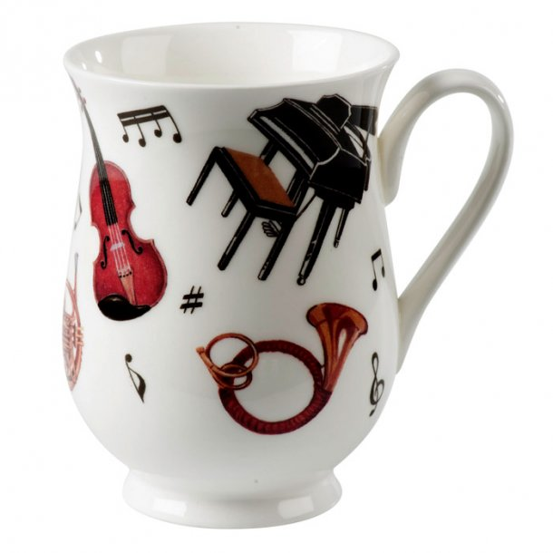 Concert Mugg med Musik Eleanor 0,33ltr.
