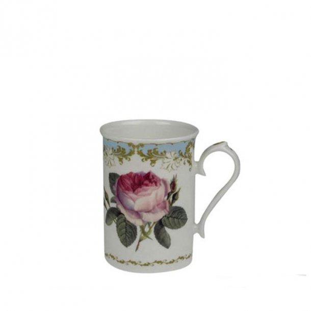 Vintage Rose Mugg med Redoute Rosor Anne 0,33ltr.