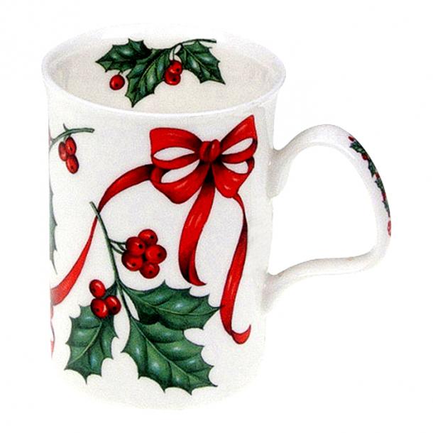Christmas Ribbon Mugg 0,33 ltr