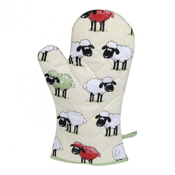 Sheepish Grillhandske med får