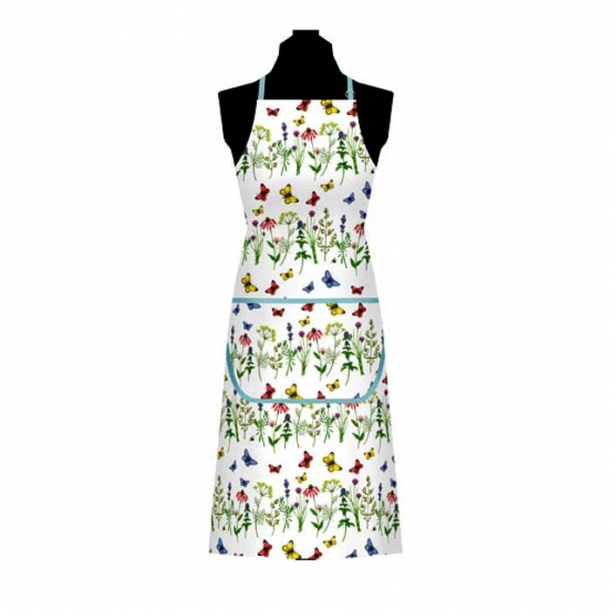 Herbs & Butterflies Bomull Förkläde