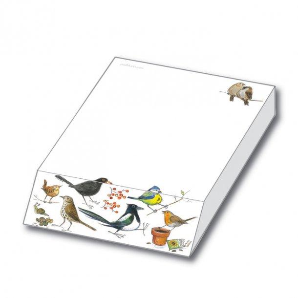 Bird Sketches Papirblok 9,5x13,5x2,0 cm