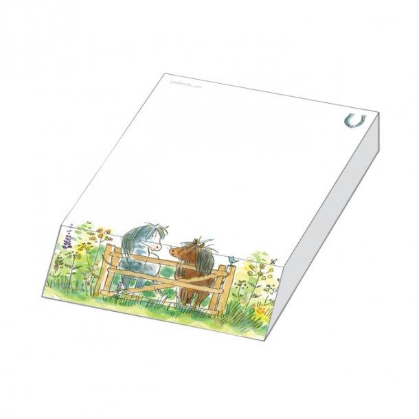 Happy Horses Papirblok 9,5x13,5x2,0 cm