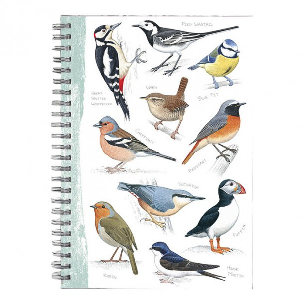 British Birds Notesbog A5