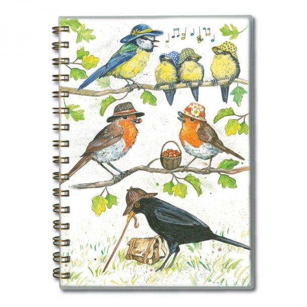 Birdie Hats Notesbog A5