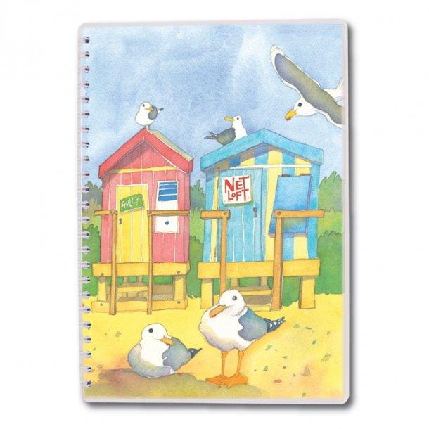 Seaside Emma Ball Notesbog A5