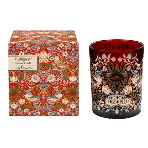 Morris & Co Strawberry Thief Scented Candle 240 g
