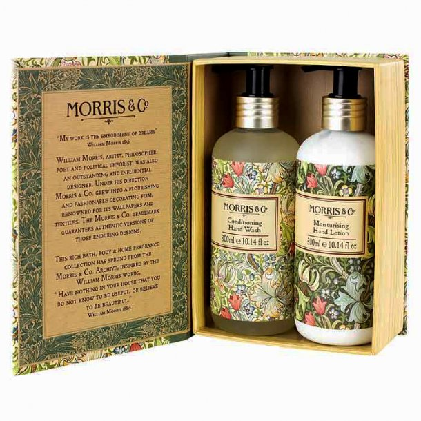 Morris & Co Golden Lily Hand Wash 300 ml & Hand Lotion 300 ml