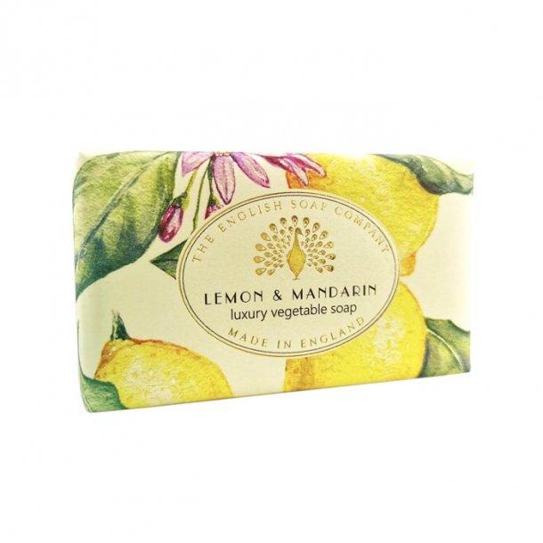 Vintage Lemon & Mandarin Sæbe, sæbe med Citron og Mandarin duft 200g