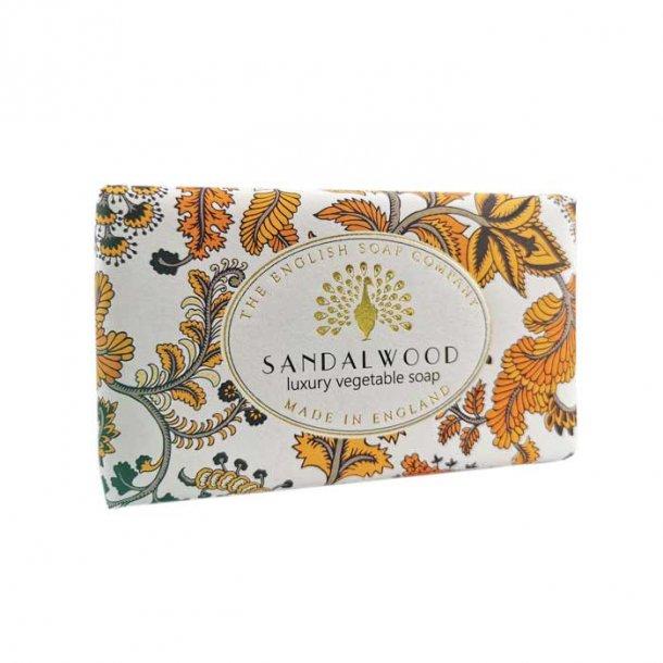 Vintage Sandalwood Sæbe, lækker sæbe med Sandaltræ duft 200g